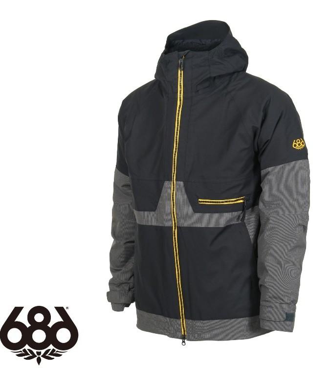 【686】シックスエイトシックス AUTH Smarty Network Jacket BLACK ジャケットメンズ