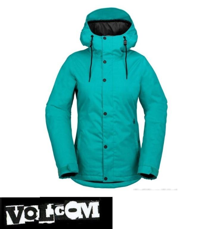 e8f0e320c6735d 【16-17】VOLCOM ボルコム BOLT JKT TEAL スノーボードウェア レディース H0451708