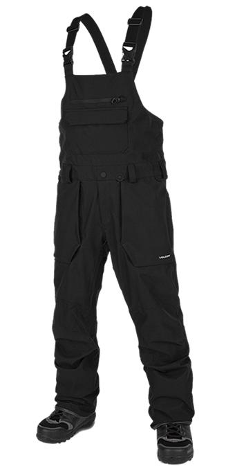 【19-20】VOLCOM ROAN BIB OVERALL BLACK ボルコム スノーボードウェア メンズ G1351909
