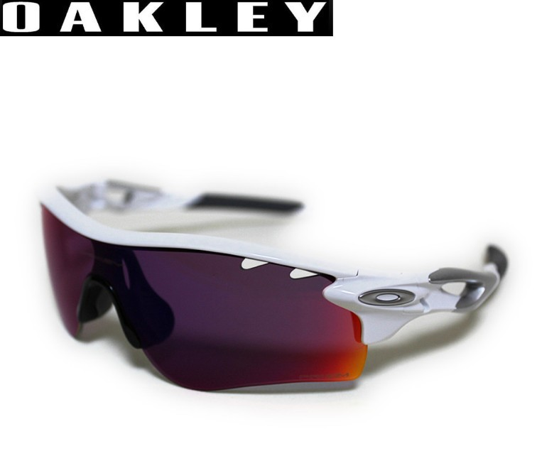 【OAKLEY】オークリー サングラス 【レーダーロックパス】 Polished White/Prizm Road Vented & Persimmon Vented 9181-40/oo9181-40