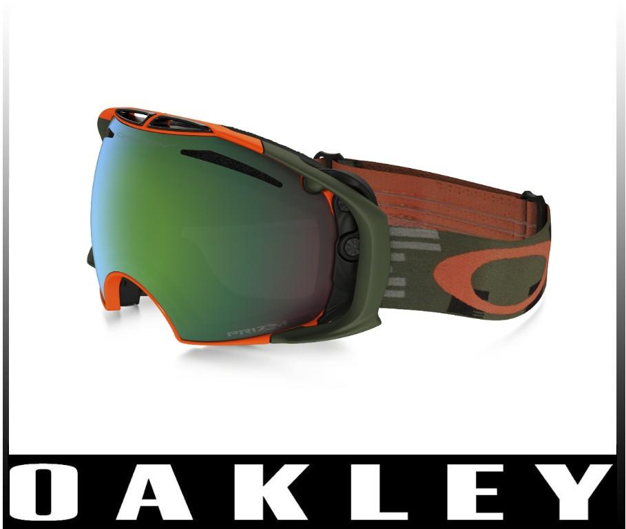 【OAKLEY】AIRBRAKE Disruptive Olive Orange/Prizm Jade Irid+ Persimmon 7037-20 エアーブレイク アジアンフィット 『2営業日以内に発送します!』