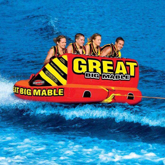 SPORTSSTUFF GREAT BIG MABLE 4人乗り グレート ビッグ マーブル トーイングチューブ/ウォータートーイ/バナナボート/スポーツスタッフ 53-2218