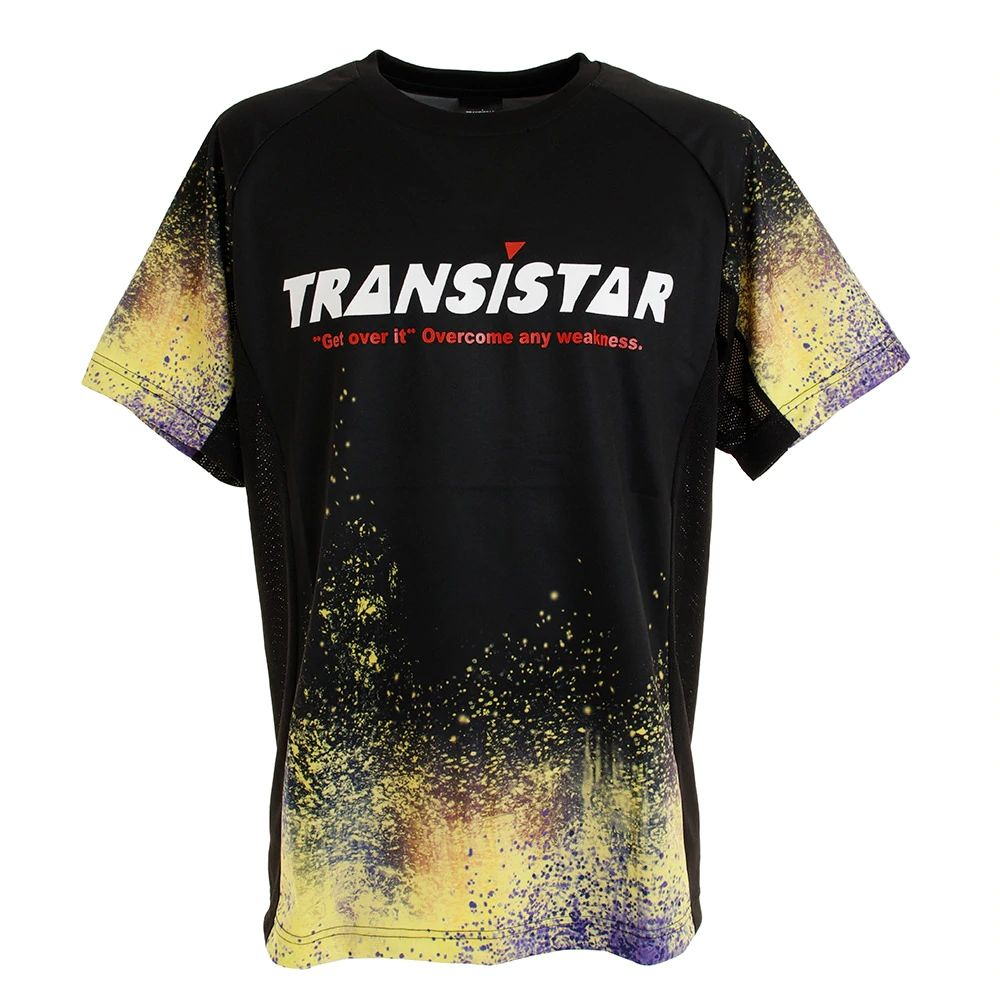 ☆ 大規模セール 3980円以上送料無料 新作 TRANSISTAR サイドメッシュ ゲームシャツ ハンドボール HB19AT03-04 競技