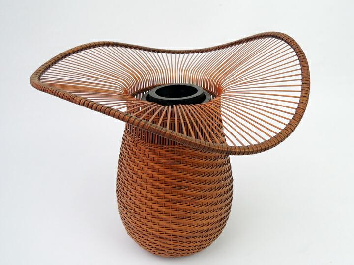 在庫要確認 唐人がさ 森上仁 W24cm×D24cm×H22cm 国産 日本製 花か高級 インテリア 美術館