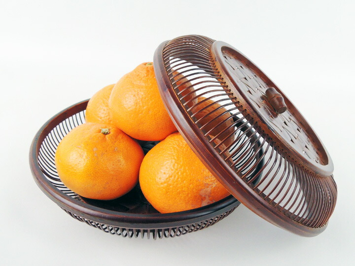 竹製 感謝価格 お茶菓子入れ 職人手作り の品 菓子器 種類 入れ物 艶なし ついに入荷
