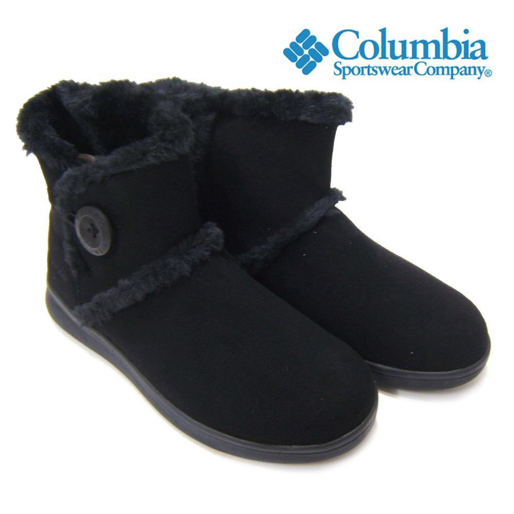 雨の日や雪上でも水の侵入をしっかりと防ぐ♪Columbia/コロンビア ベアフットマウンテン2 WPウォータープルーフ YL3963-010