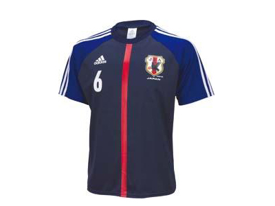 new arrival 40744 fbd25 Football Japan national team 6-! Uchy (atsuto Uchida!) adidas / adidas  Japan President home T shirt 6 CU391-X49717