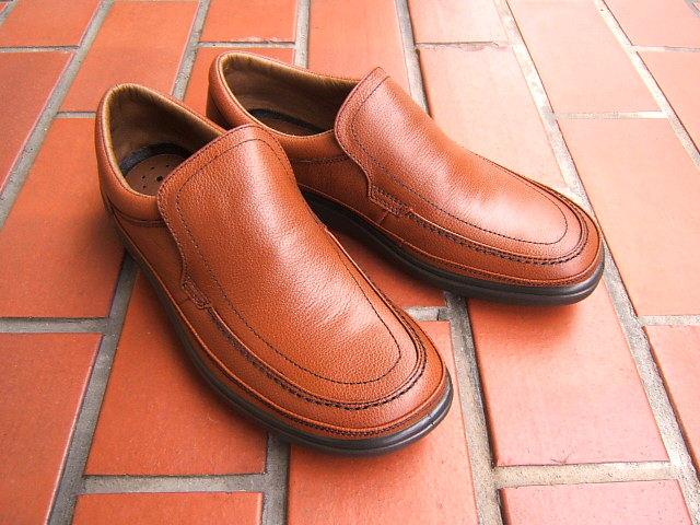 ビジネス&カジュアルで使える男の機能シューズ!ARUKURUN/アルクラン 紳士靴 スリップオン 1101 ダークブラウン 送料無料