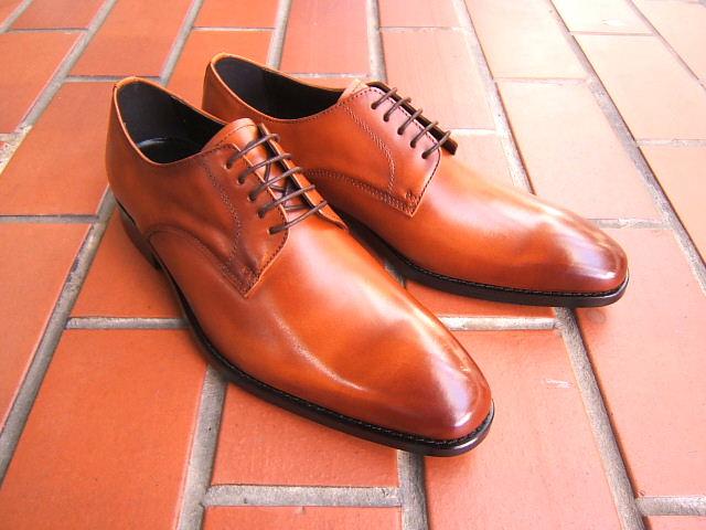 英国ブリティッシュスタイルの魅せる足元へ♪プリムローズ ヒル/PRIMROSE HILL LONDON PH1510-BROWN ブラウン 紳士靴 プレーントゥ ビジネス 送料無料