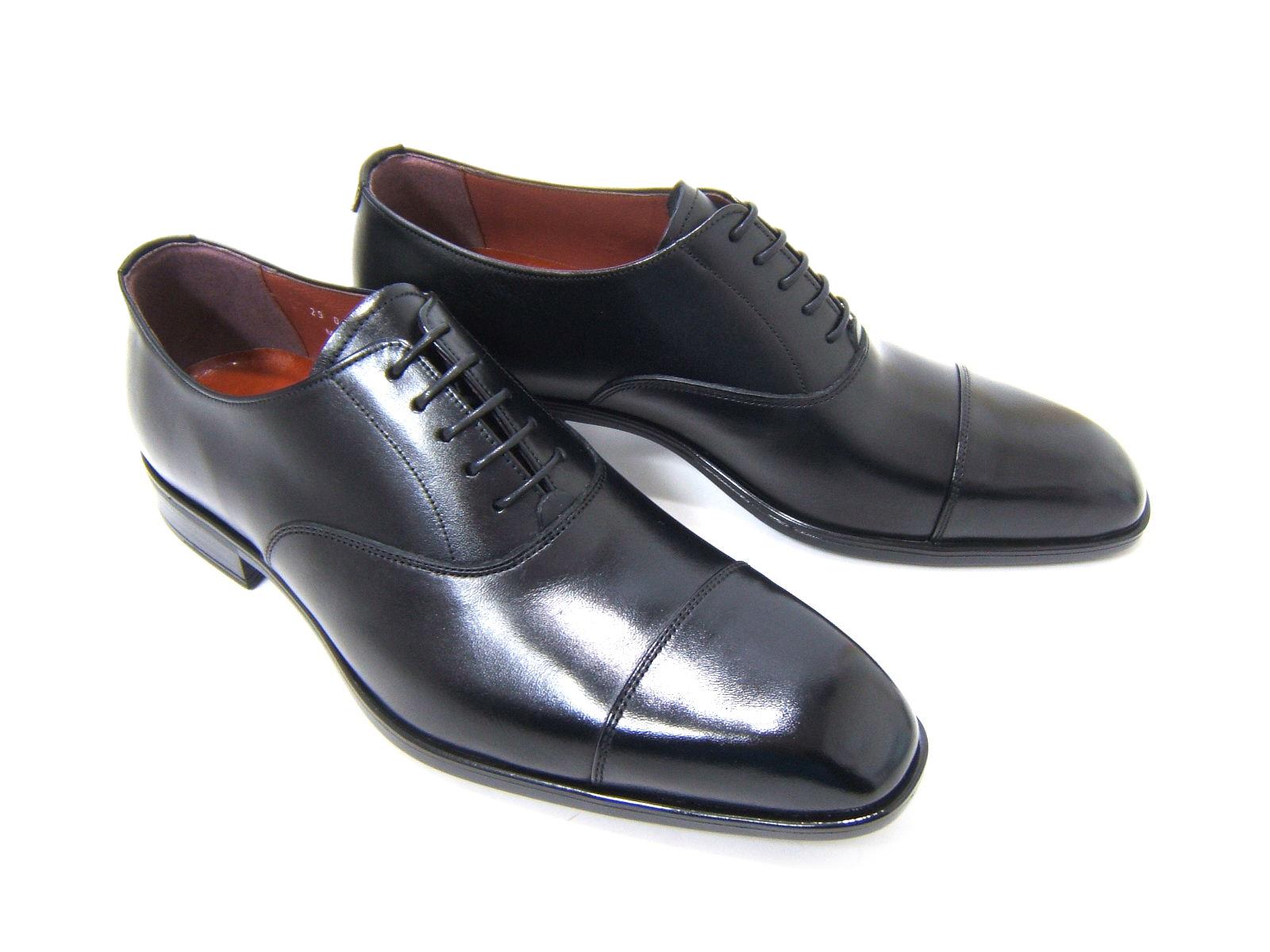 ビジネスにパーティーに♪大人の魅力溢れる足元を!フランコ ルッチ/FRANCO LUZ FL1050-BLK ブラック 紳士靴 ストレートチップ ビジネス パーティ 送料無料