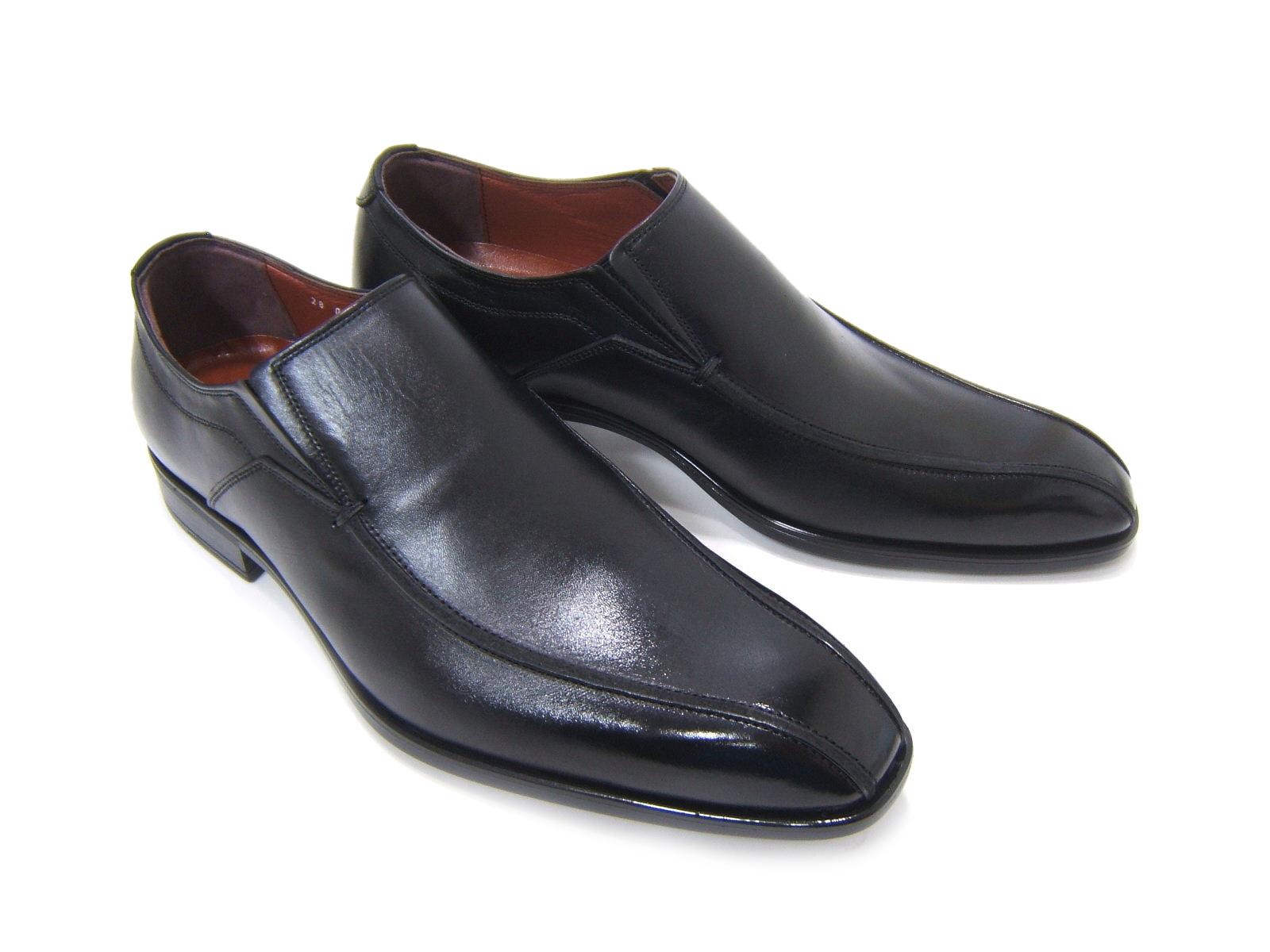 ビジネスにパーティーに♪大人の魅力溢れる足元を!フランコ ルッチ/FRANCO LUZ FL1053-BLK ブラック 紳士靴 スワールモカ ビジネス パーティ 送料無料