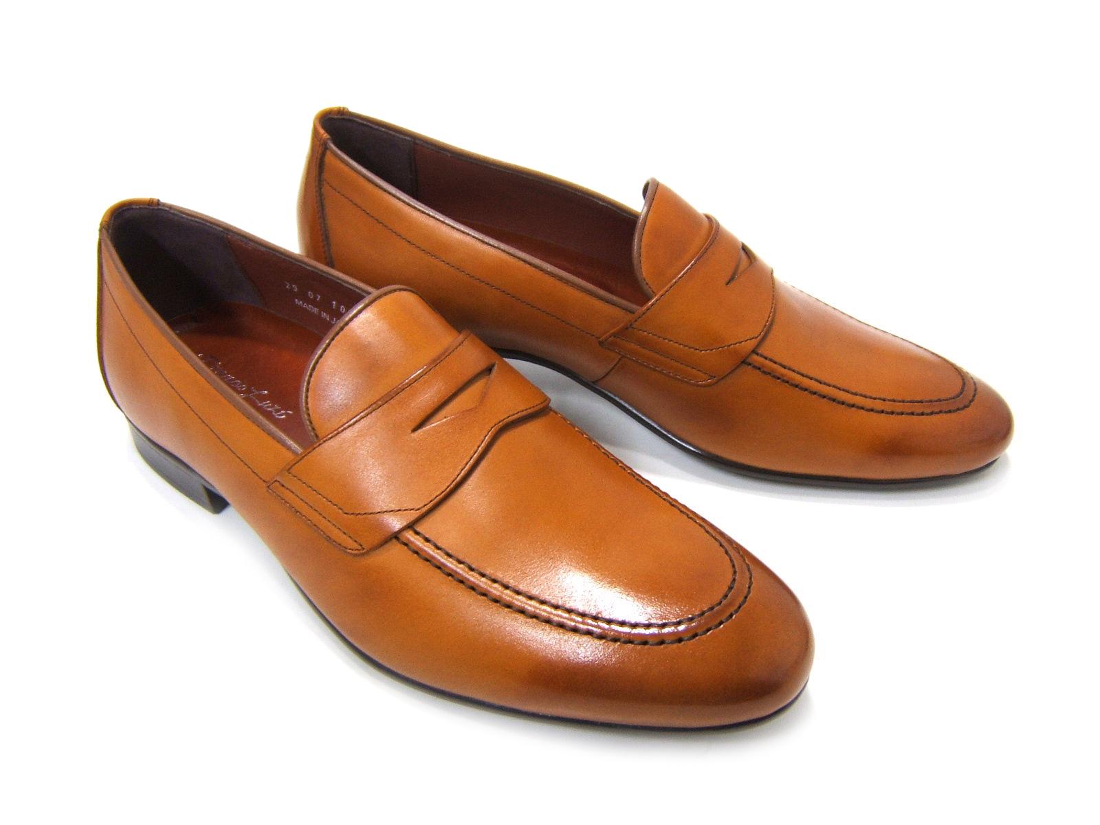 新提案のオン&オフで魅せるローファースタイル♪フランコ ルッチ/FRANCO LUZ FL1060-LBR ライトブラウン 紳士靴 ローファー ビジネス パーティ カジュアル 送料無料
