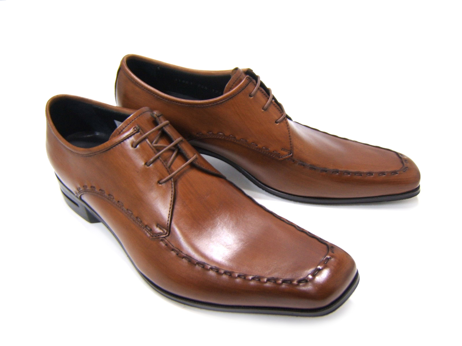 英国で培われた伝統のスタイルを正統継承!KATHARINE HAMNETT LONDON キャサリン ハムネット ロンドン紳士靴 KH-31603 ブラウン Uチップ 飾り縫い 外羽根 スクエアトゥ 送料無料