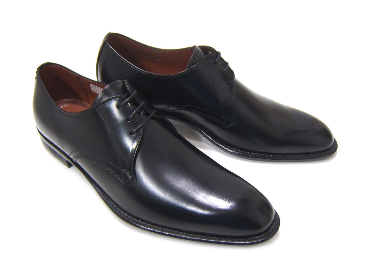 艶感あるアッパーが魅力の新定番スタイル!KENFORD/ケンフォード KB46AJ 紳士靴 ブラック プレーントゥ フォーマル ビジネスKB46AJ-BLK