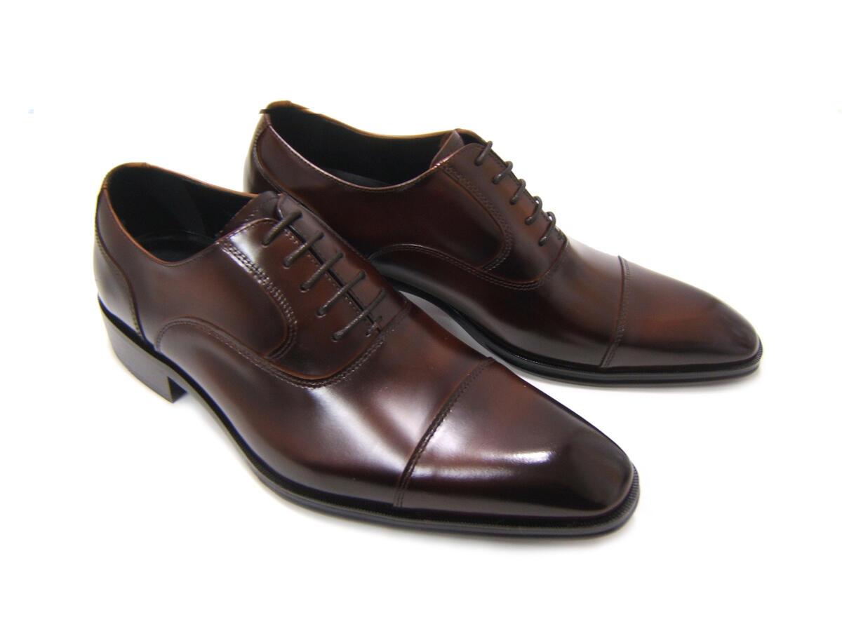 上品でエレガントなイタリアンモード!アントニオ ドュカッティ/ANTONIO DUCATI 紳士靴 DC-1180 ダークブラウン ストレートチップ 内羽根 送料無料