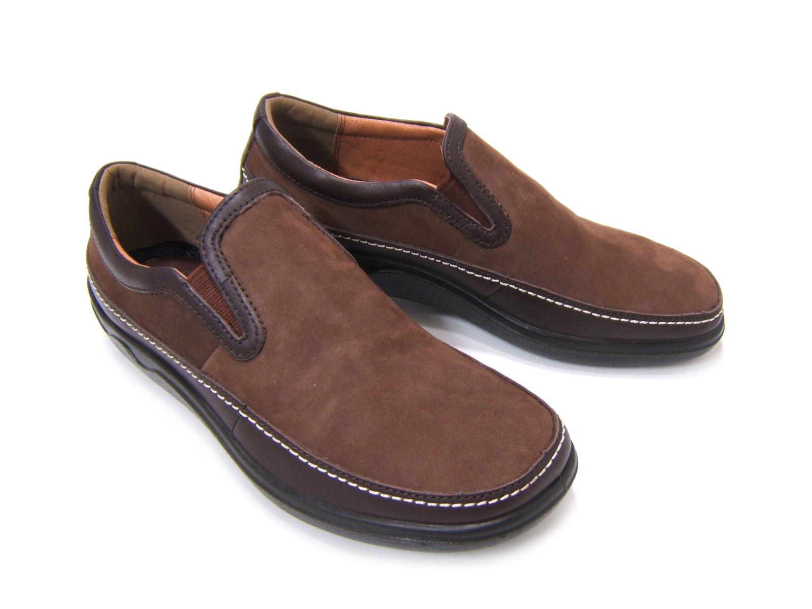 ビジネス&カジュアルで使える男の機能シューズ!ARUKURUN/アルクラン 紳士靴 スリップオン ヒモなし AR-1111 ダークブラウン 送料無料