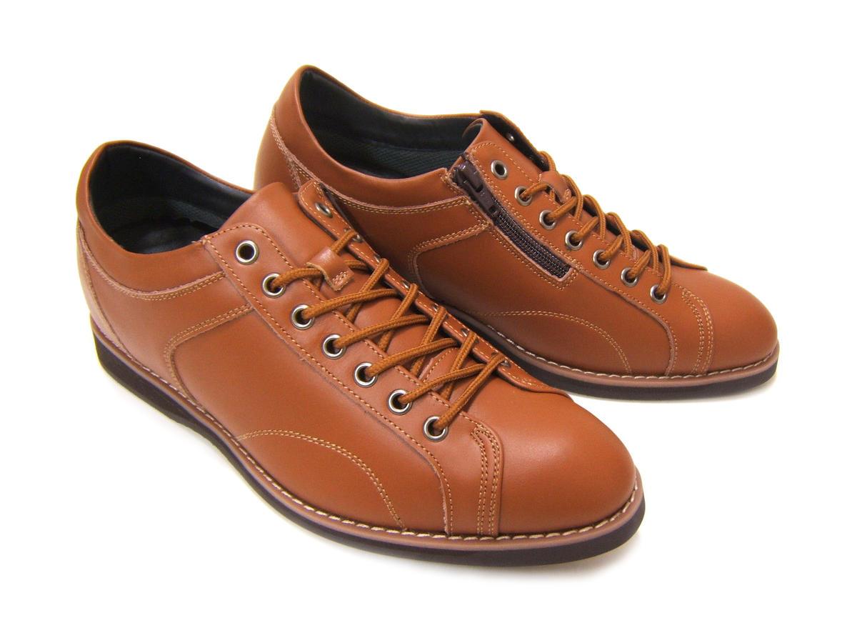 オシャレなビジカジで6cmシークレットUp♪Maturi JAPAN/マツゥーリ ジャパン 革靴 シークレットシューズ 背が高くなる靴 カジュアル ビジカジ 送料無料 MT-4512 ブラウン