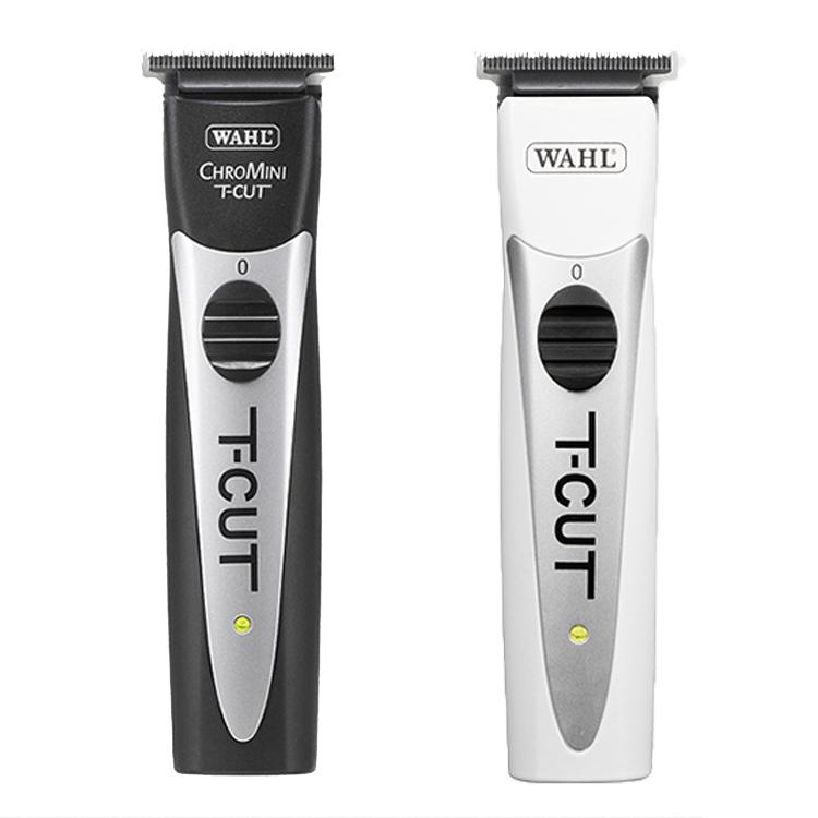 WAHL クロミニ T-CUT ブラック、ホワイト ChroMini T-CUT Black、White セット内容 トリマー、ブレード、充電スタンド、オイル、クリーニングブラシ、ブレードガード