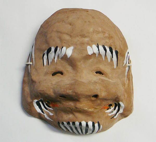 Saga-saga face masks of ancient Japanese history of longevity