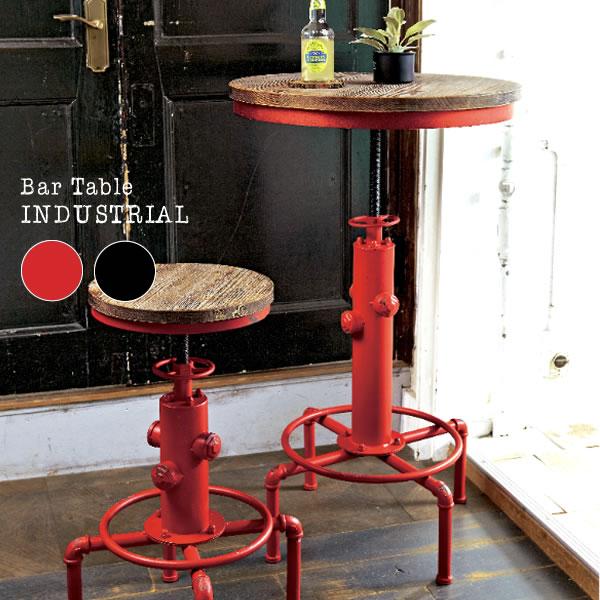 【送料無料】INDUSTRIALシリーズ バーテーブル KNT-A801【北海道、沖縄、離島へは配送できません】