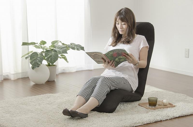 【送料無料】和楽プレミアム座椅子フロアーチェアー