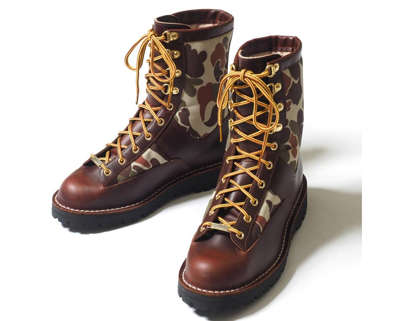 WAREHOUSEウエアハウス ブーツ DANNER×WAREHOUSE CAMO LIGHT