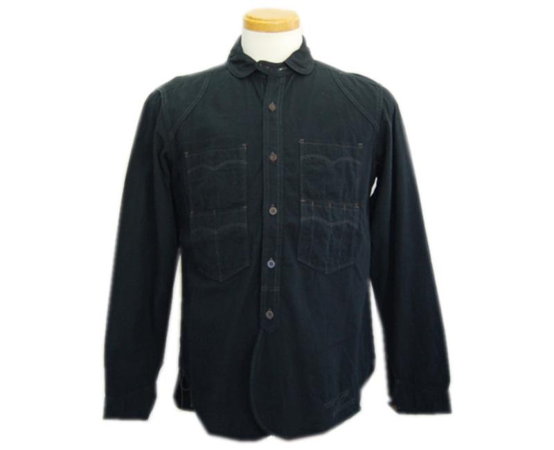 COLIMBOコリンボ 長袖シャツ TRAPPER'S SHIRT(ブラック)