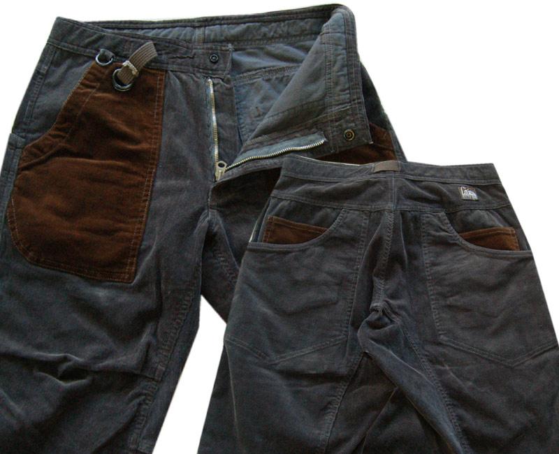 COLIMBO コリンボ ボトムズ【ご予約受付中】GOAT ISLAND CLIMB PANTS(グレー/ブラウン)