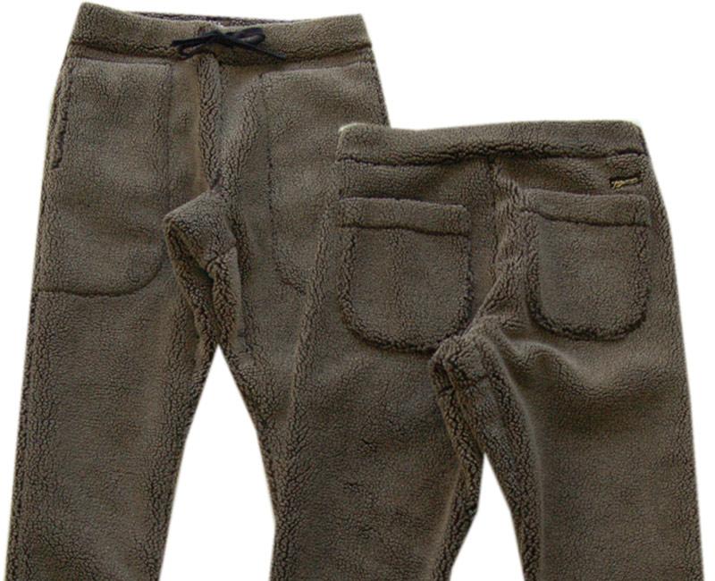 COLIMBO コリンボ ボトムス【ご予約受付中】PARK LODGE FLEECE PANTS(セージグレー)