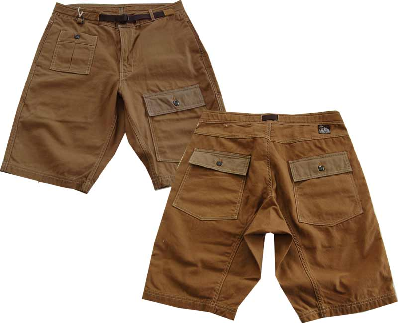 COLIMBO(コリンボ)パンツ The Gravity Game Shorts (Brown×Sand)