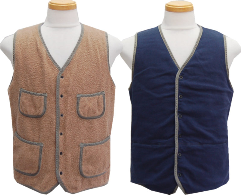 COLIMBO(コリンボ) STOCKMAN'S RIVERSIBLE VEST (NAVY)