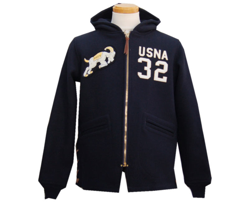 COLIMBOコリンボ アウター OLD MIDSHIPMEN'S HOODY//ANNAPOLIS CUSTOM