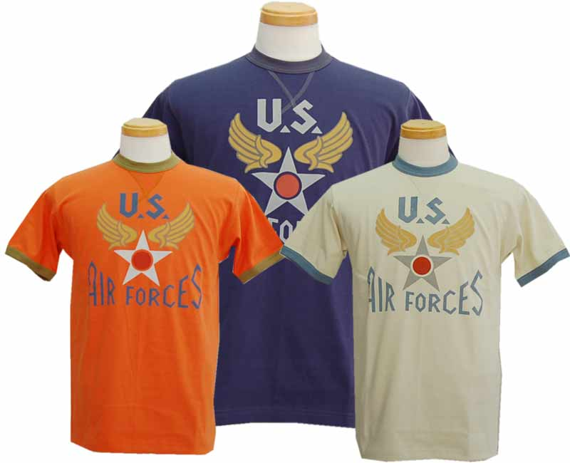 TOYS McCOYトイズマッコイ MILITARY TEE SHIRT U.S.AIR FORCES