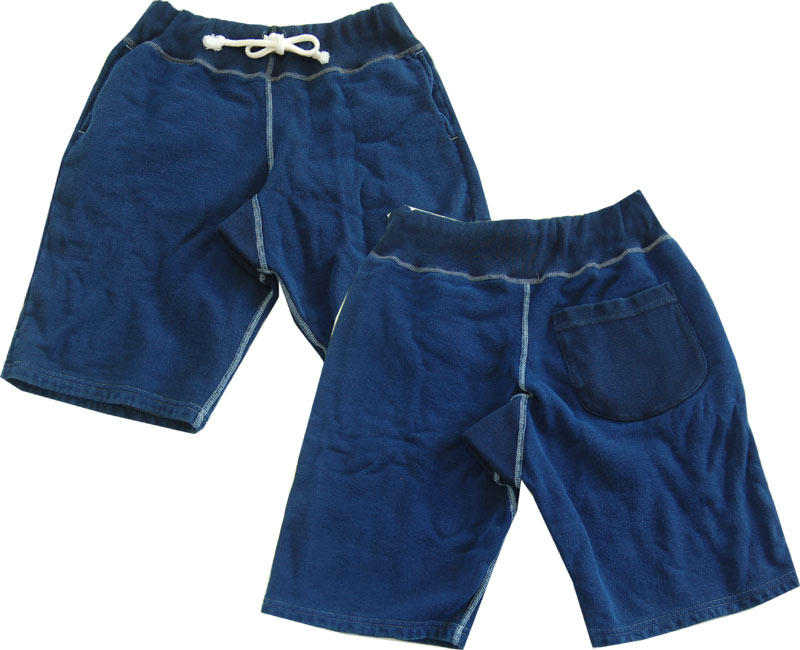 Two Moon トゥームーン スウェット INDIGO Sweat Short Pants 【smtb-k】【kb】