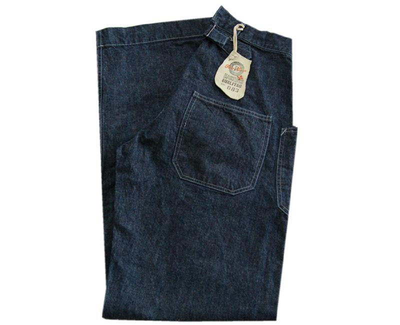 TWO MOON トゥームーン ジーンズ Denim Deck Pants(インディコ) 130本限定