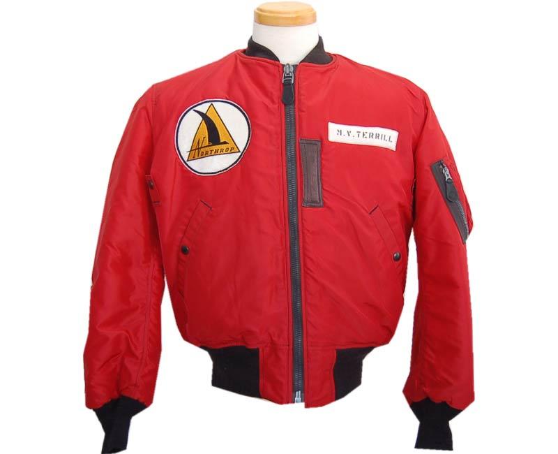 Buzz Rickson's(バズリクソンズ) フライトジャケット JACKET FLYING INTERMEDIATE TYPE RED MA-1(NORTHROP)