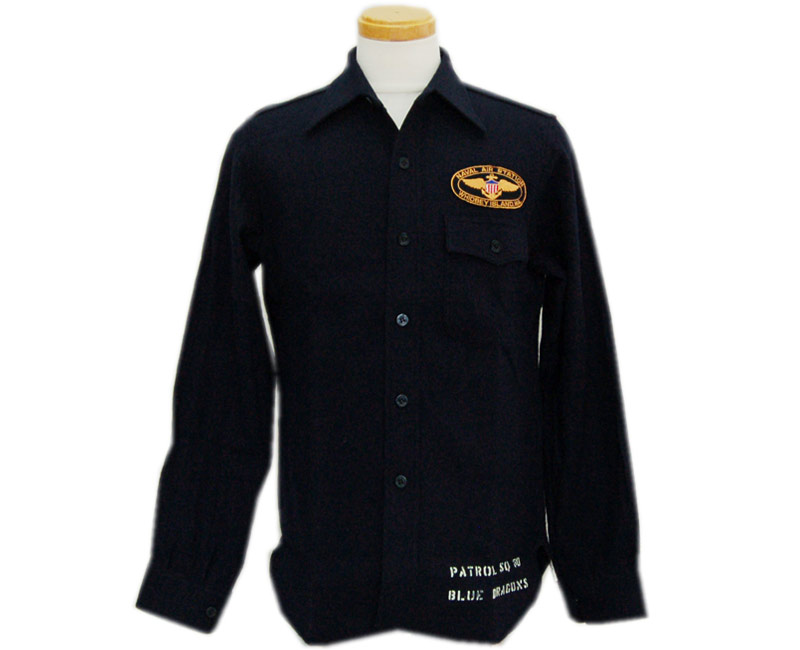"BUZZ RICKSON'S バズリクソンズ 長袖シャツC.P.O.SHIRTS ""NAVY DEPARTMENT"
