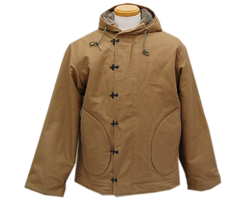 "BUZZ RICKSON'Sバズリクソンズ フライトジャケット TYPE N-1 PARKA ""NAVAL CLOTHING FACTORY ORIGNAL SPEC"