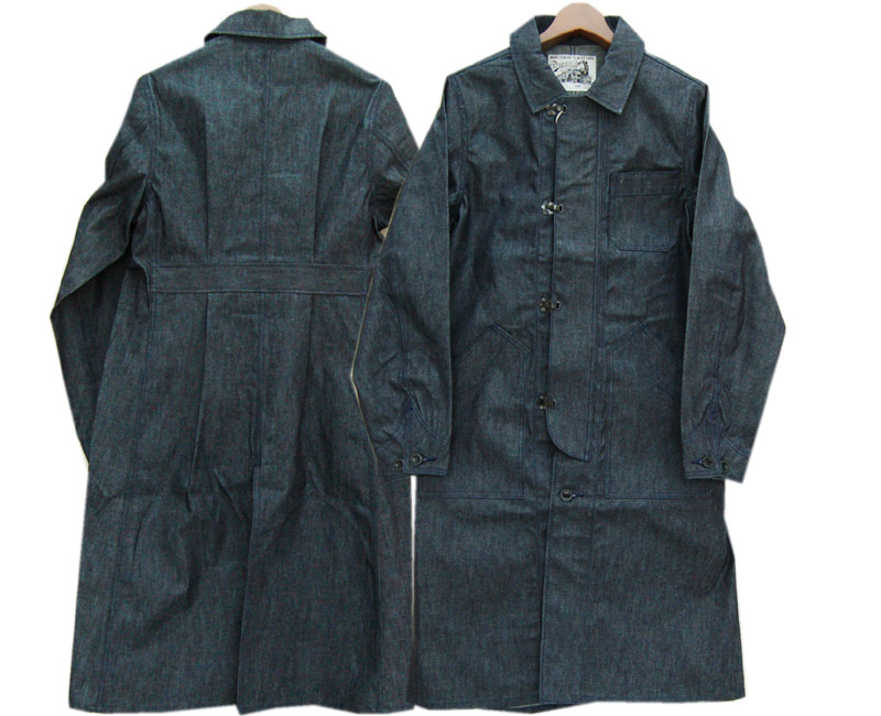 DAPPER'Sダッパーズ コート Classical Front Hook Engineers Coat LOT1237(INDIGO DENIM)