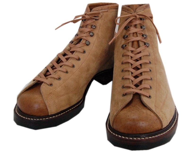 DAPPER'Sダッパーズ ブーツ Classical Lineman Boots LOT1152(SUNSET BEIGE)