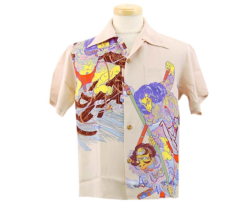 SunSurf サンサーフ 半袖 2006 S/S SPECIAL EDITION /KEONI OF HAWAII 浮世水滸伝龍虎
