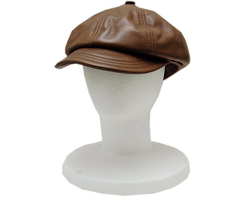【ご予約受付中 *Under reservation】COLIMBOコリンボ 帽子 レザーキャスケット(バートゥアンバー)
