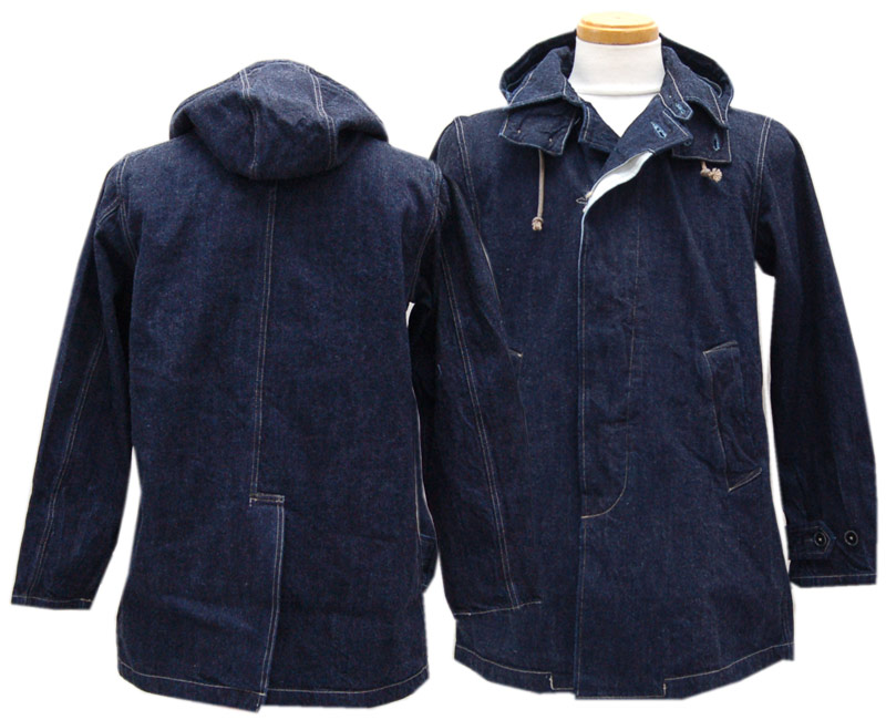 COLIMBO コリンボ アウター RICHMOND BOROSPRING COAT(INDIGO DENIM)