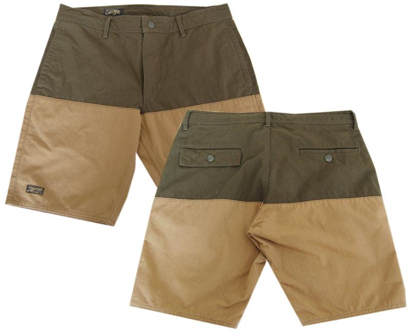 COLIMBOコリンボ ショートパンツ TAMPA-BAY MONSOON SHORTS(GREEN/BEIGE)