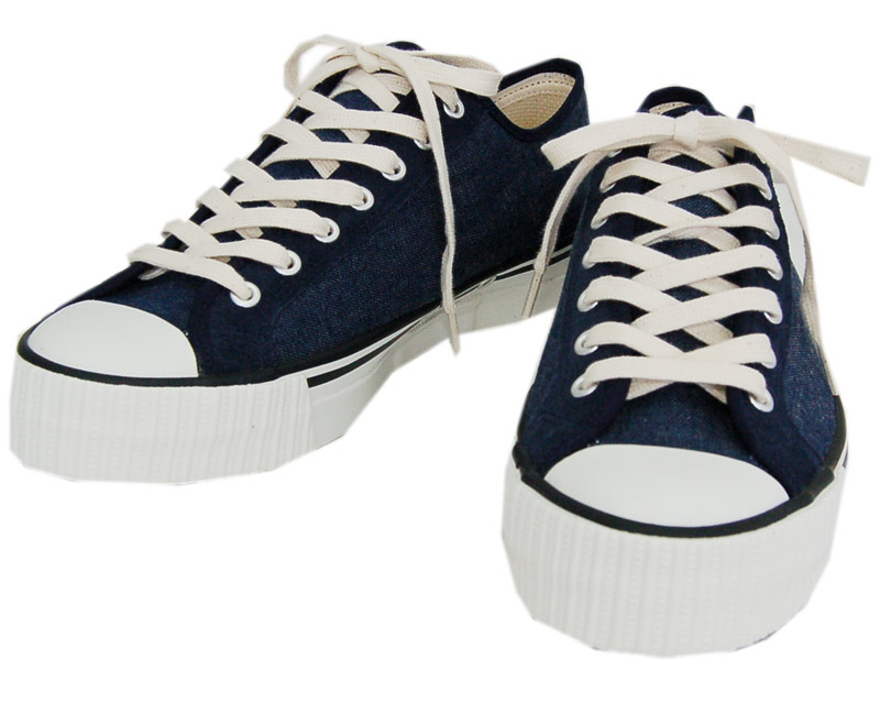 WAREHOUSEウエアハウス スニーカー 3200(B) LOW CUT DENIM SNEAKER