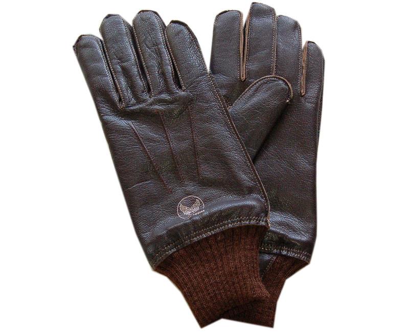 Buzz Rickson's(バズリクソンズ) 手袋 A-10 GLOVE(ブラウンリブ)