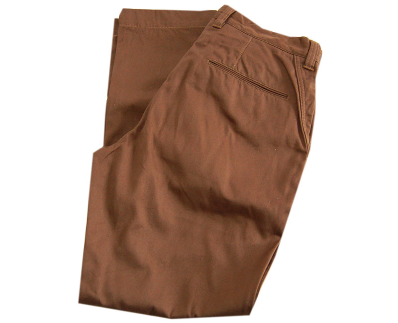 COLIMBOコリンボ ウェポン(チノ) ULSTER TROUSERS(CHOCOLATE BROWN)