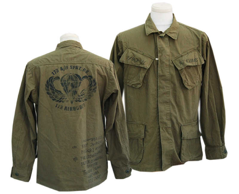 "COLIMBO コリンボ アウター SOUTHERNMOST BUSH JACKET ""Sky Soldier 173rd (空兵173)""カスタム"