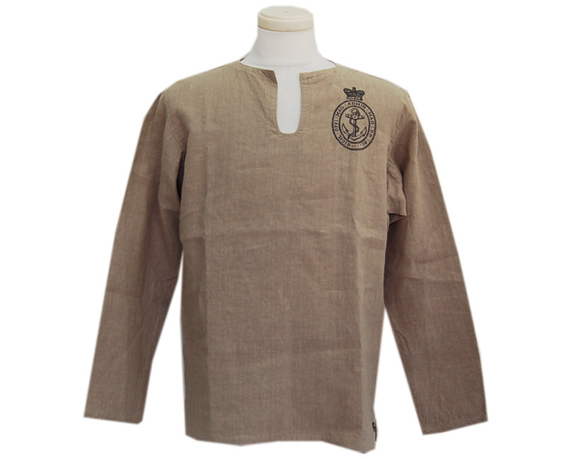 "COLIMBOコリンボ プルオーバーシャツ ""Scapa Fiow Sleeping Shirt""(CORK BEIGE)"