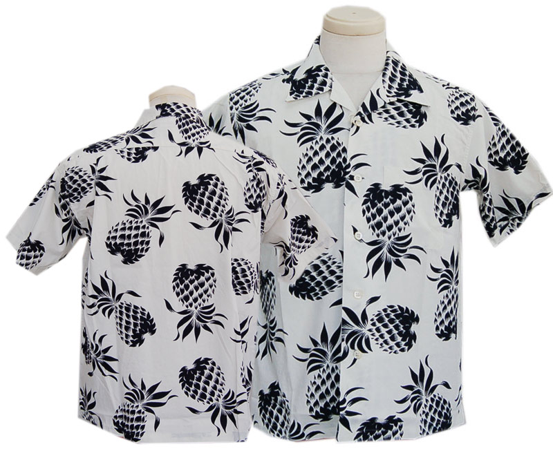 "2020 SUN SURF サンサーフ【DULE KAHANAMOKU】半袖 COTTON HAWAIIAN SHIRT ""DUKE'S PINEAPPLE"